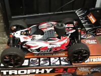 Rc car hpi trophy buggy