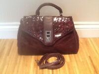Brand New Jane Shilton Burgundy Handbag