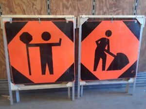 Excellent Condition safety road signs $400 Souris
