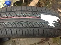 Land Rover spare tyre, alloy rim / tyre never used