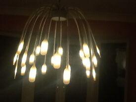 Pendant LED light.