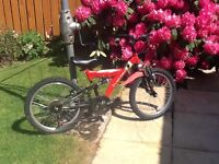 Childs bike suit 7 - 10 yr old. Good tyres and brakes.