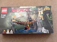"""BNIB Lego Ninjago Movie """"Master Falls"""" set"""