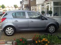 VAUXHALL CORSA +5 DOOR+AUTOMATIC + Full HPI CLEAR REPORT +2 Key +PRIVIOUS LADY OWNER ......