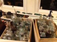 Old bottles mostly victorian