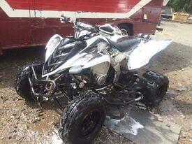 Yamaha raptor 700r road legal quad