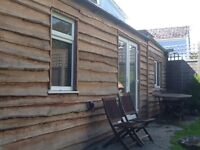 Log cabin Tenby. holiday let available from September