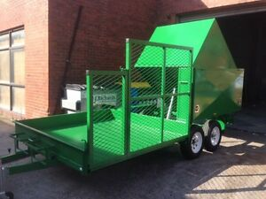8x5 tipper mower mowing trailer Dandenong South Greater Dandenong Preview
