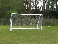 Large football goals, excellent condition, bought in January 2017