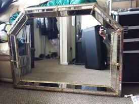 Reproduction of antique mirror