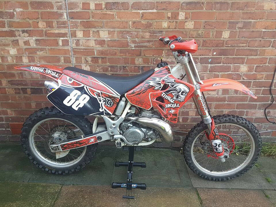 1994 honda cr 250 super evo px 85 125 cash my way ££££ Blackpool.