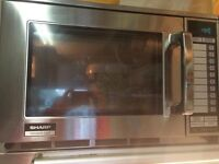 2 x SHARP COMMERCIAL MICROWAVES