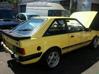 Ford escort xr3 1982 non injection