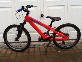 Scott Voltage JR 20W Kids Mountian Bike In MINT Condition