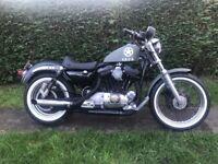 Harley Davidson sportster 1200 xlh1200 swap van not 883 not buell v twin chopper bobber military