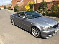 BMW 318I MSport Convertable £2850