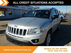2012 Jeep Compass Sport/North CD MP3 ABS BREAKS
