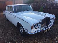 1972 Rolls Royce Silver Shadow mk1 Classic car