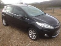 ford fiesta 1.4 tdci zetec 2010/60 plate 133k full history and 10 months mot (£30 a year tax)..