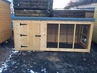 10ft x 4ft DOG KENNEL WITH RUN FOR SALE