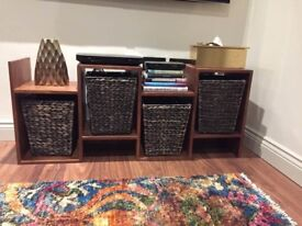 Swoon Editions Media/Storage Unit WITH Lombok baskets