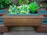 HANDMADE FLOWER PLANTERS AND FLOWER TABLES FROM £50