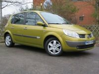 2005 05 renault scenic 1.6 vvt dynamic automatic alloys 1 owner only 79k hpi clear nice car