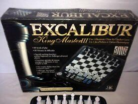 Excalibur King Master 3 Electronic Chess