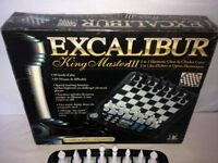 Excalibur King Master 3 Electronic Chess