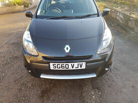 60 REG RENAULT CLIO 1.5 DCI,37600 MILES,£30 ROAD TAX,TOM TOM NAVIGATION