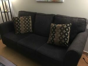 Couch with Sofa Bed (Espanola)