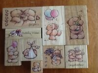 Forever Friends Rubber Stamps