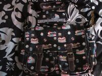 LYDC London cupcake design shoulder bag with matching purse in as new condition condition