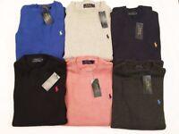 NEW Ralph Lauren Men's Crew Neck Jumpers 100% Cotton