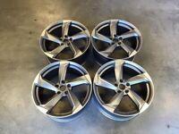 "18 19 20"" Inch Audi A9 Concept Alloy Wheels A4 A5 A6 A7 A8 5x112 Caddy Van Golf Seat Leon"