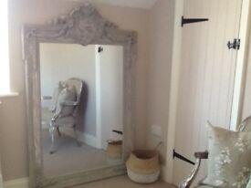 French style grey mirror