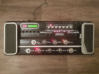 Zoom G9.2tt Valve Guitar and Bass effects pedal