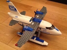 Lego police aeroplane