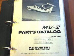 Mitsubishi-MU-2B-35-Parts-Manual-aka-MU-2J