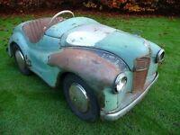 1950S-PEDAL CAR FOR RESTORATION