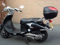 For Sale SYM AJ12W ALLO 125 Scooter Excellent Condition only 420 miles