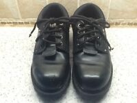 Rock fall steel toe capped shoes