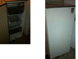 ELECTROLUX TALL FREEZER SIZE ABOVE GOOD WORKING ORDER CAN BE SEEN WORKING DETAILS BELOW