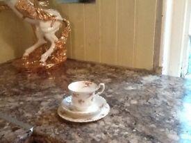 Bone china tea set , 18 piece