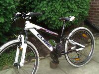 Cube team 240 child's mountain bike