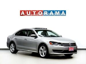 2014 Volkswagen Passat COMFORTLINE LEATHER SUNROOF ALLOY WHEELS
