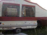 Conway cruiser folding camper Please read description