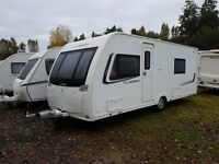 Lunar Clubman SB 4 Caravan 2013 FIXED SINGLE BEDS, MOTOR MOVER, AWNING !!