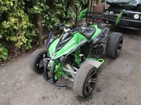 Jinling 250 Quad Jla-21b Honda Engine Road Legal Mot..