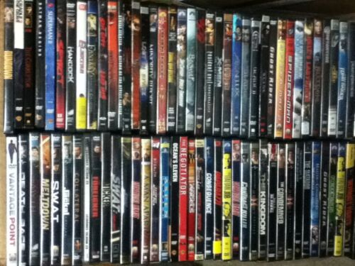 *FREE SHIPPING! HUGE Collection Lot of 50 ASSORTED DVDs Movies 50 DVDs FREE SHIP